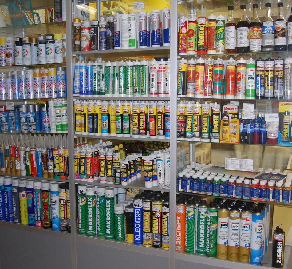Купить герметики, пены монтажные в городе Обнинске